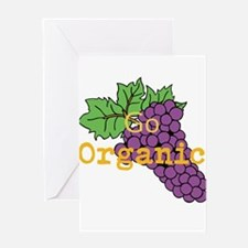 Go Organic Greeting Card