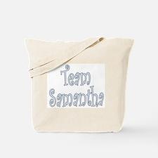 Team Samantha Tote Bag