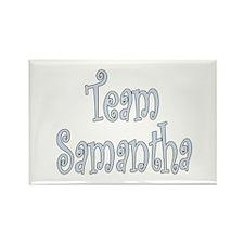 Team Samantha Rectangle Magnet