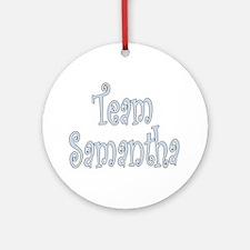 Team Samantha Ornament (Round)