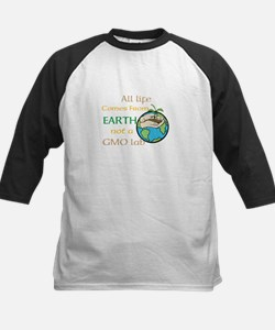 All Life Comes From Earth. Not a GMO Lab Baseball