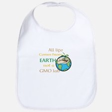 All Life Comes From Earth. Not a GMO Lab Bib
