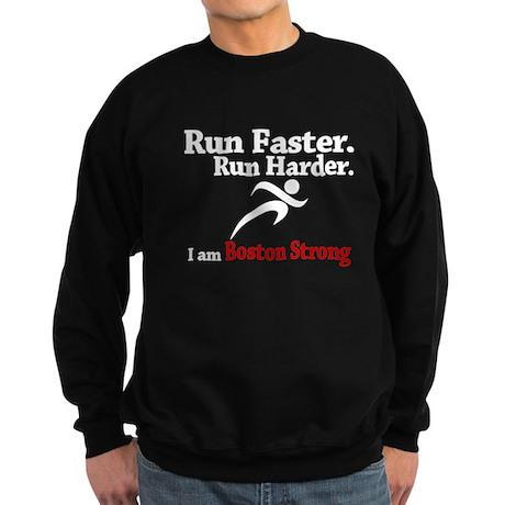 Run Faster Run Harder Sweatshirt (dark)