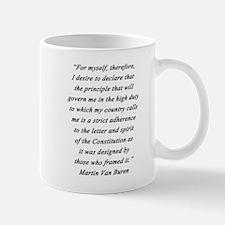 Van Buren - For Myself Mug
