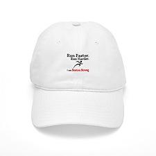 Run Faster Run Harder Baseball Cap