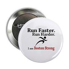 """Run Faster Run Harder 2.25"""" Button (100 pack)"""