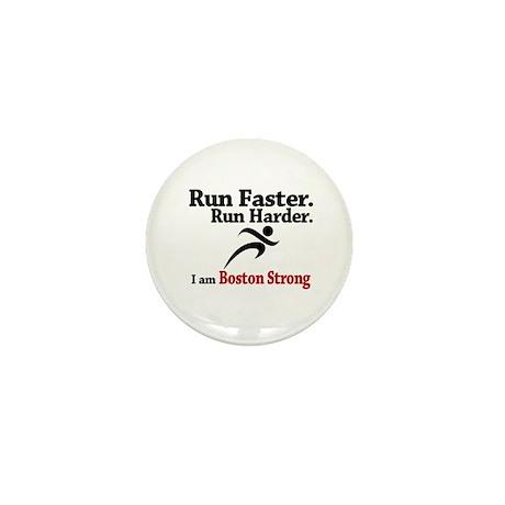 Run Faster Run Harder Mini Button (10 pack)