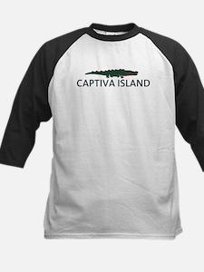 Captiva Island - Alligator Design. Kids Baseball J