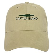 Baseball Captiva Island - Alligator Design. Baseball Cap
