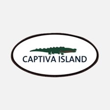 Captiva Island - Alligator Design. Patches