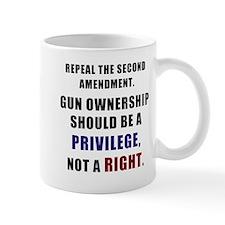 Repeal the second amendment Mug