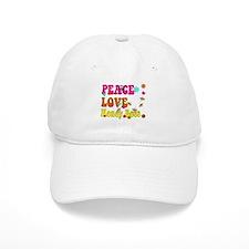peace love honeybees Baseball Baseball Cap