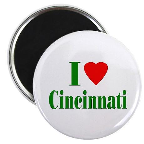 "I Love Cincinnati 2.25"" Magnet (100 pack)"