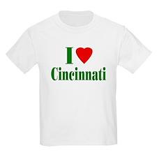 I Love Cincinnati Kids T-Shirt