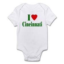 I Love Cincinnati Infant Bodysuit