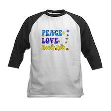 peace love honeybees 2 Baseball Jersey