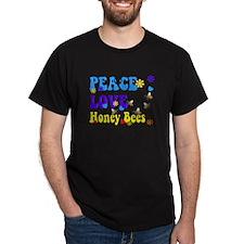peace love honeybees 2 T-Shirt