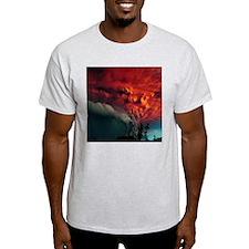 Red smoke T-Shirt