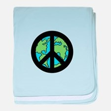 World Peace baby blanket