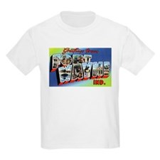 Fort Wayne Indiana Greetings (Front) Kids T-Shirt