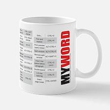 Word keyboard shortcuts Mug