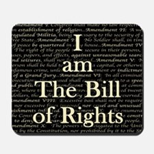 I am The Bill of Rights Mousepad