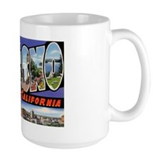 Fresno California Greetings Mug