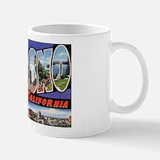 Fresno California Greetings Mug