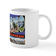 Fresno California Greetings Small Mug