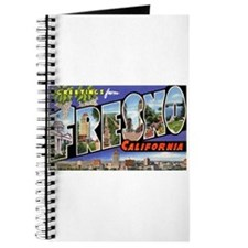 Fresno California Greetings Journal