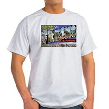 Fresno California Greetings Ash Grey T-Shirt