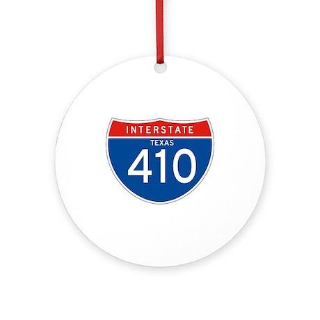 Interstate 410 - TX Ornament (Round)