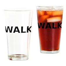 Walk Drinking Glass