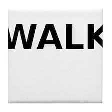 Walk Tile Coaster