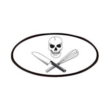 Skull Cook Patches