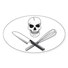 Skull Cook Decal