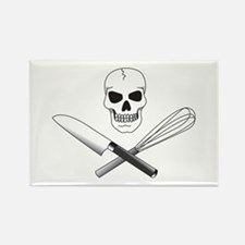 Skull Cook Rectangle Magnet (100 pack)