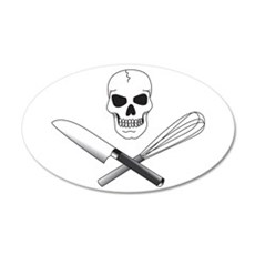 Skull Cook Wall Decal