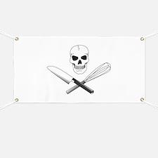 Skull Cook Banner