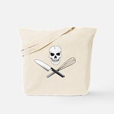 Skull Cook Tote Bag