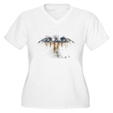 The Freedom Eagle, Full Color Plus Size T-Shirt
