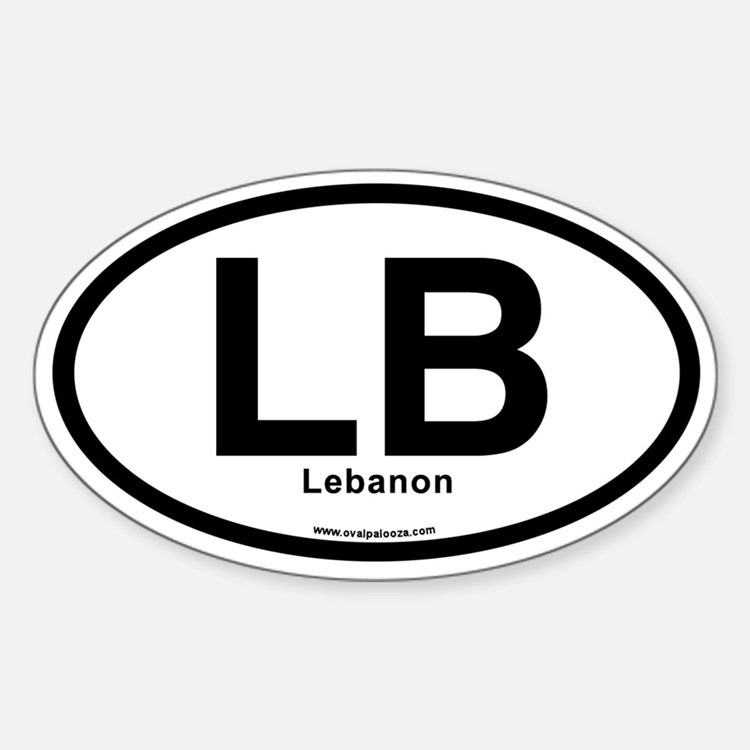 LB - Lebanon Decal