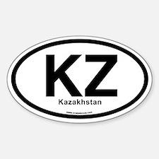 KZ - Khazakhstan Decal