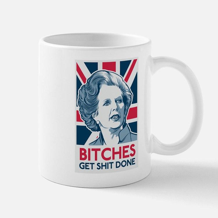 Margaret Thatcher Bitches Small Small Mug