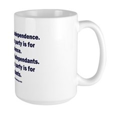Independant or Dependant Mug