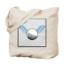When Golf Balls Fly Tote Bag