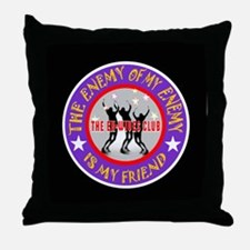 EX-WIVES CLUB Throw Pillow
