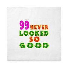 99 Birthday Designs Queen Duvet