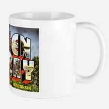 Green Bay Wisconsin Greetings Mug