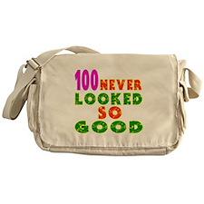 100 Birthday Designs Messenger Bag